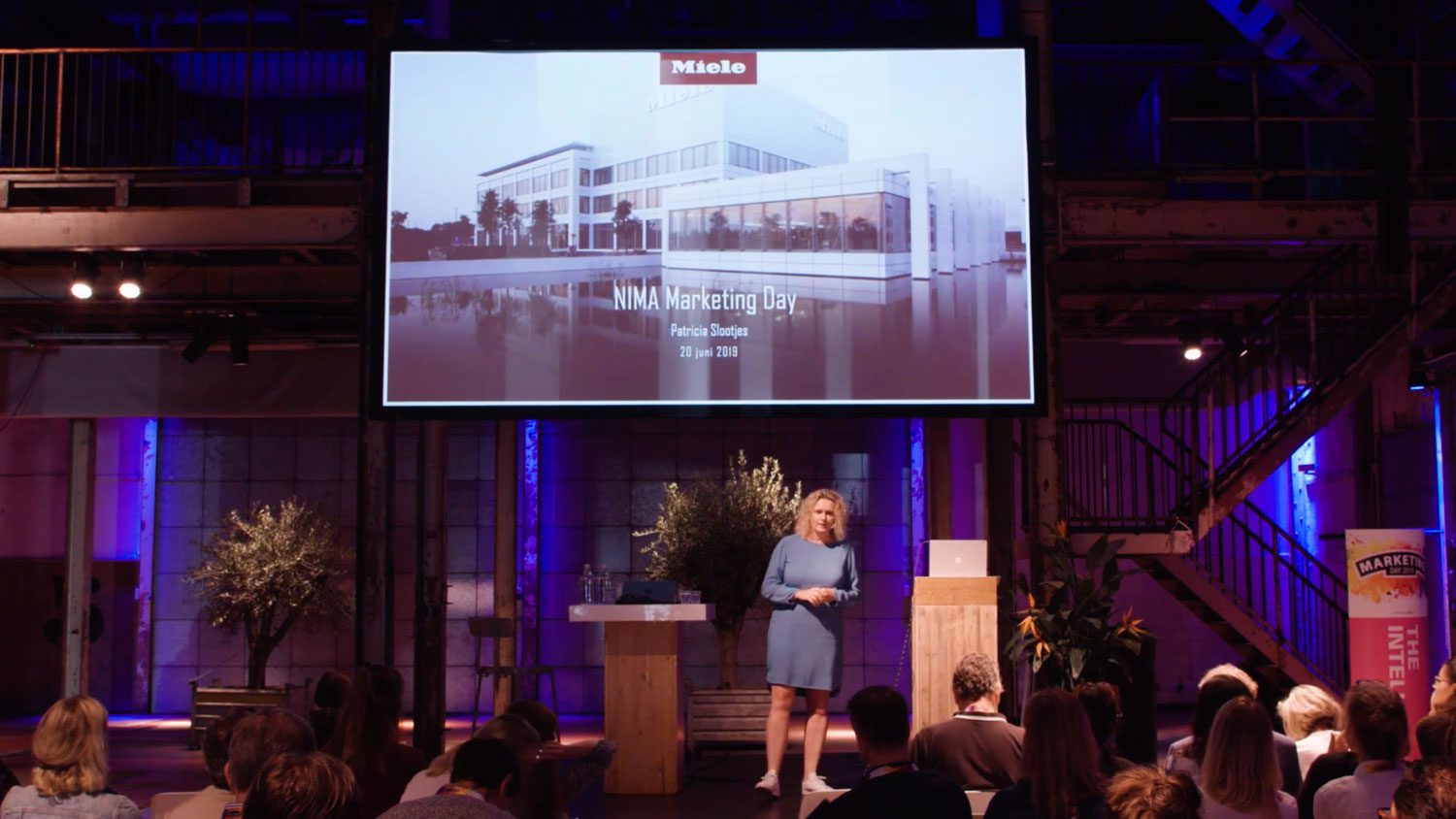 Vijftien video registraties voor NIMA Marketingday